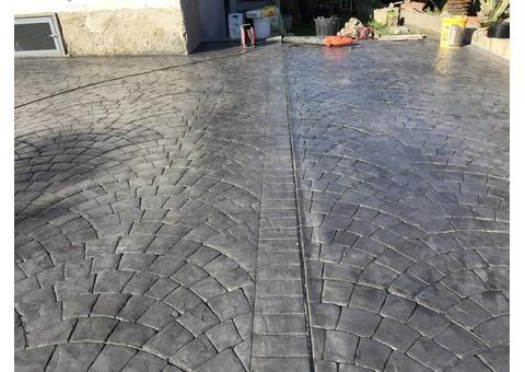 Cemento stampato roma