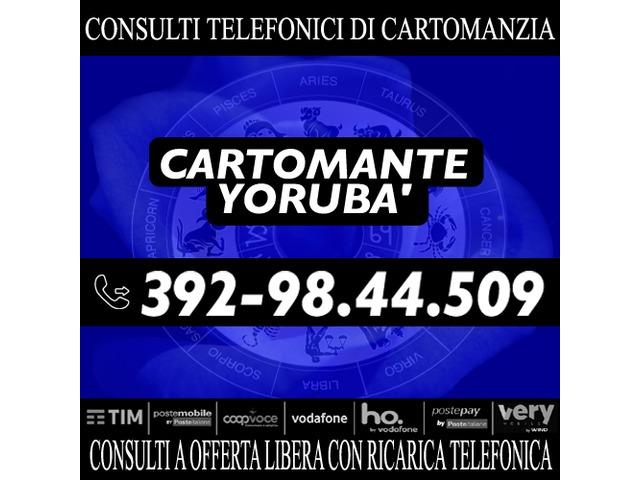 Effettuo consulti con offerta libera: il Cartomante YORUBA' - 3/4