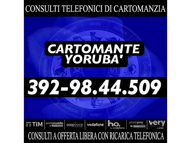 Effettuo consulti con offerta libera: il Cartomante YORUBA' - 4/4