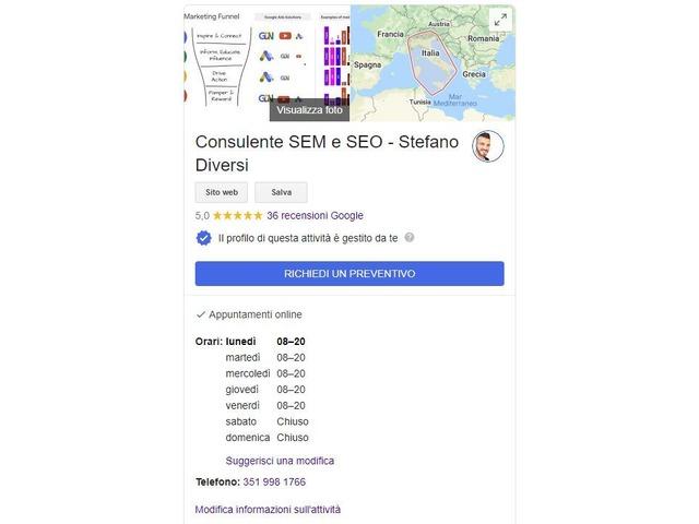 Posiziona i tuoi prodotto/servizi sui Motori di Ricerca (Google) - 4/4