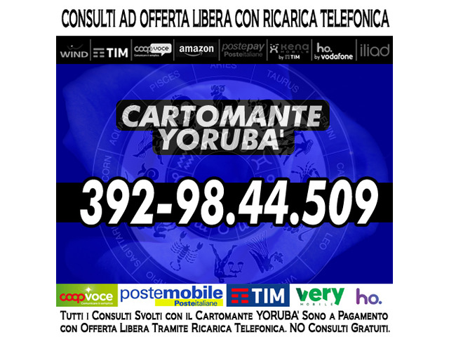 Studio di Cartomanzia il Cartomante YORUBA' - 5/12