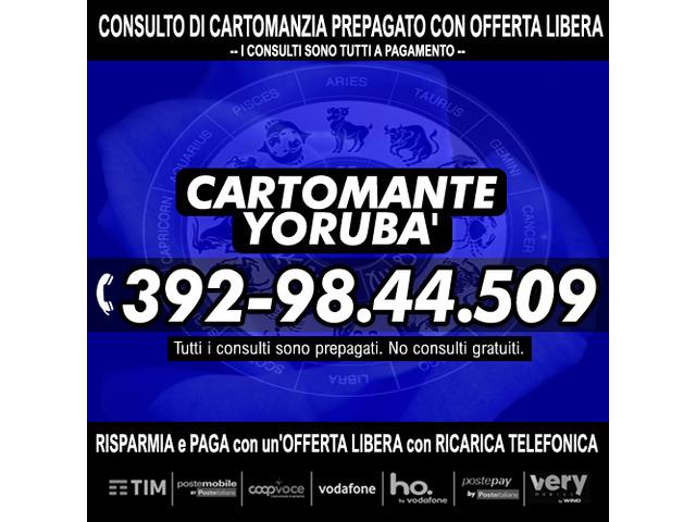 Studio di Cartomanzia il Cartomante YORUBA' - 6/12