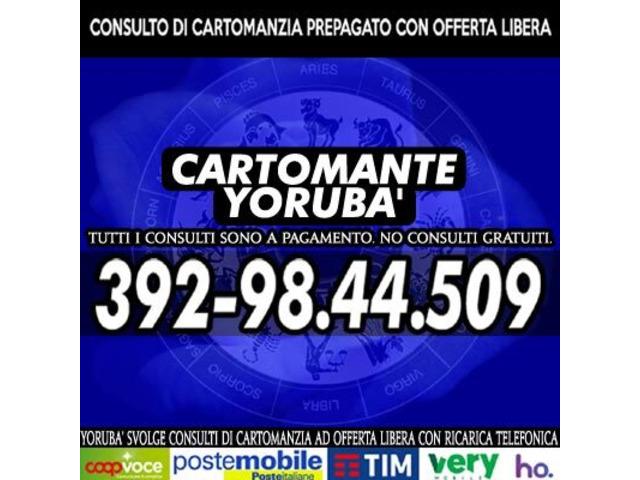 Studio di Cartomanzia il Cartomante YORUBA' - 7/12