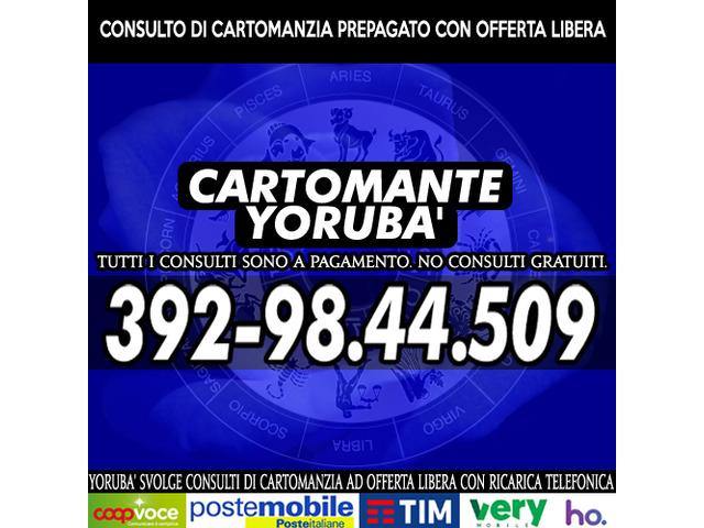 Studio di Cartomanzia il Cartomante YORUBA' - 8/12